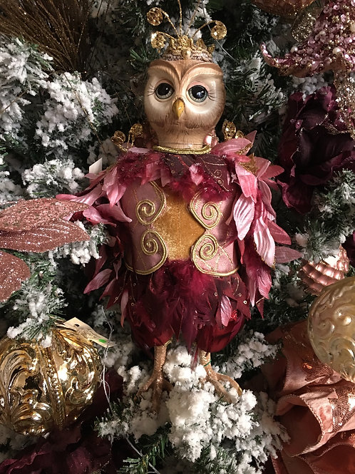 Fairy Owl doll roze