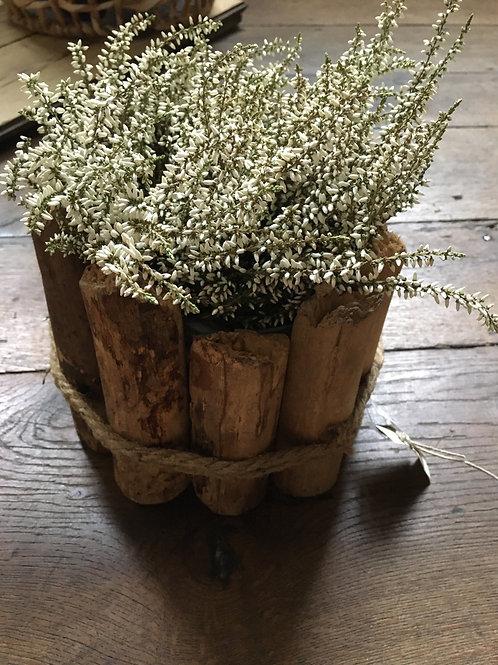 Bloempot hout