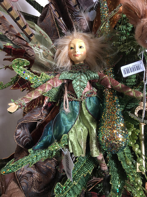 Velvet Ivy leaf Fairy doll