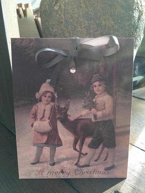 Gift Bags Santa & Children M