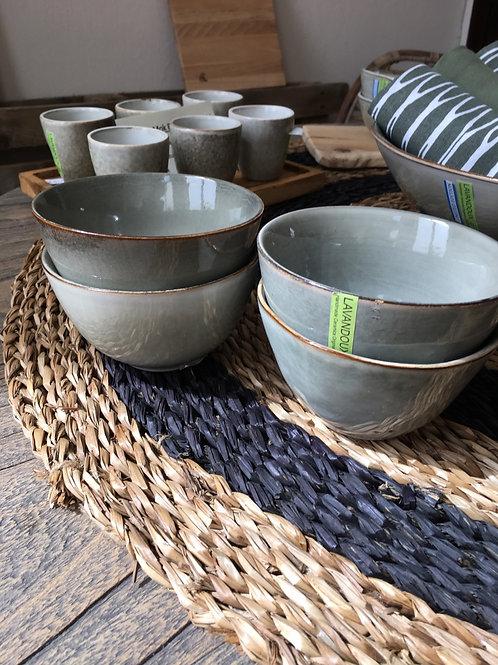 Ceramische Original bowl green