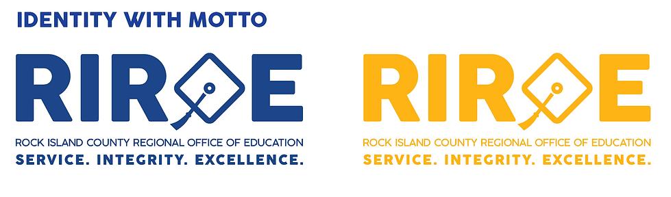 RIROE Logo with motto
