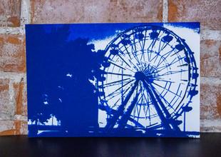 Riverbandits Ferris Wheel Silkscreen Print