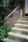 Wrought Iron Stairways