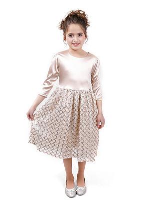 שמלה מעוינים מידות 11-15