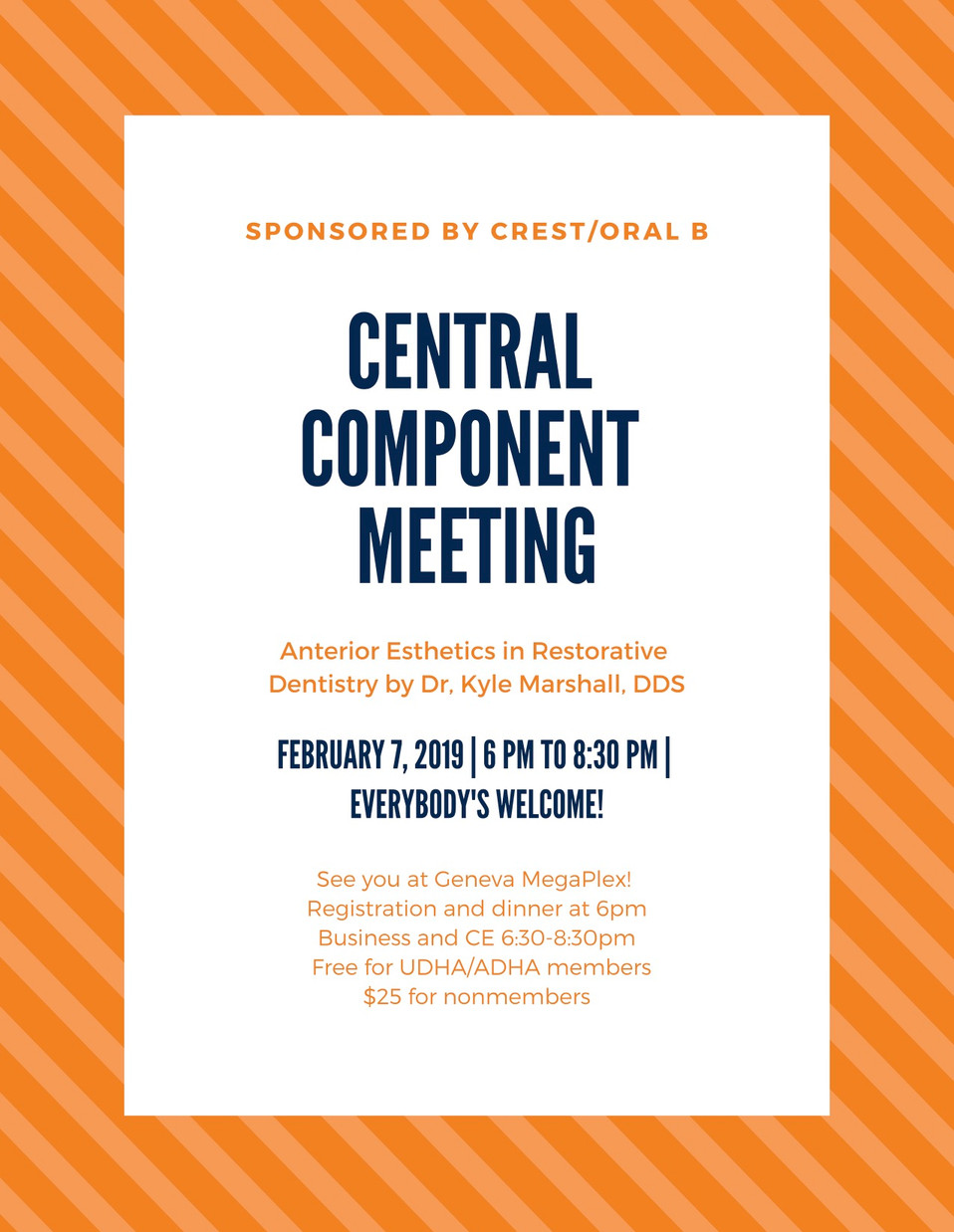 Central Component Meeting