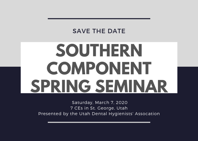 Southern Component Spring Seminar