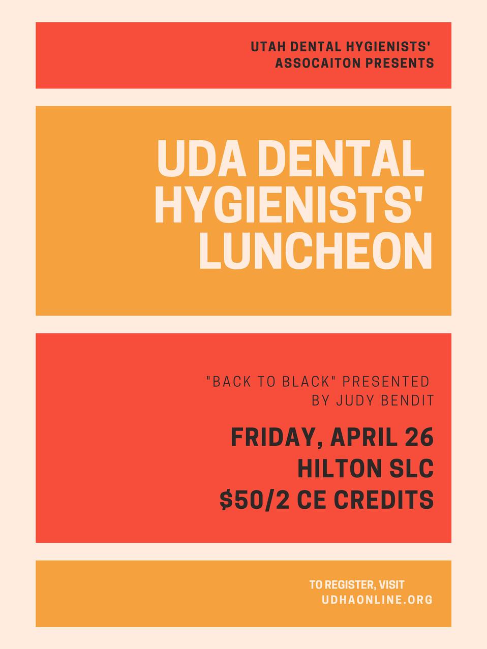 UDA Annual Dental Hygienist's Luncheon