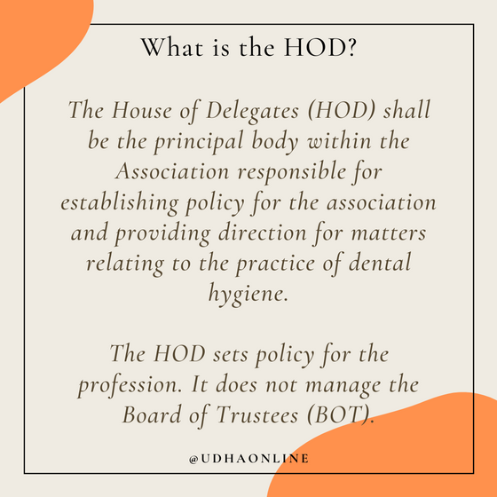 What is the HOD?