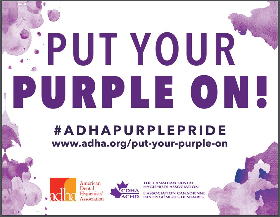 #ADHAPurplePride