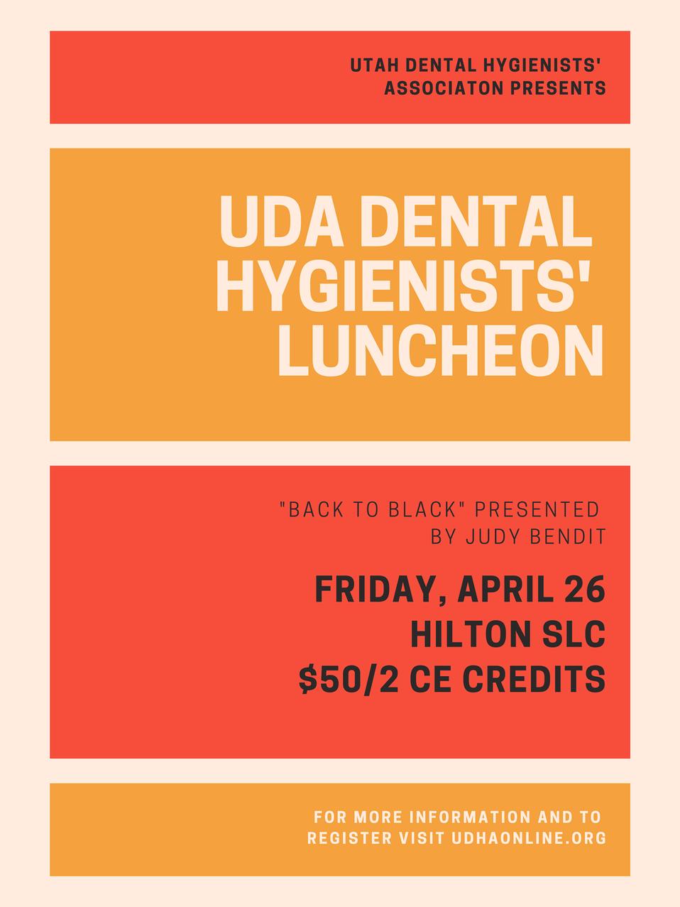 UDHA Luncheon @ UDA Convention
