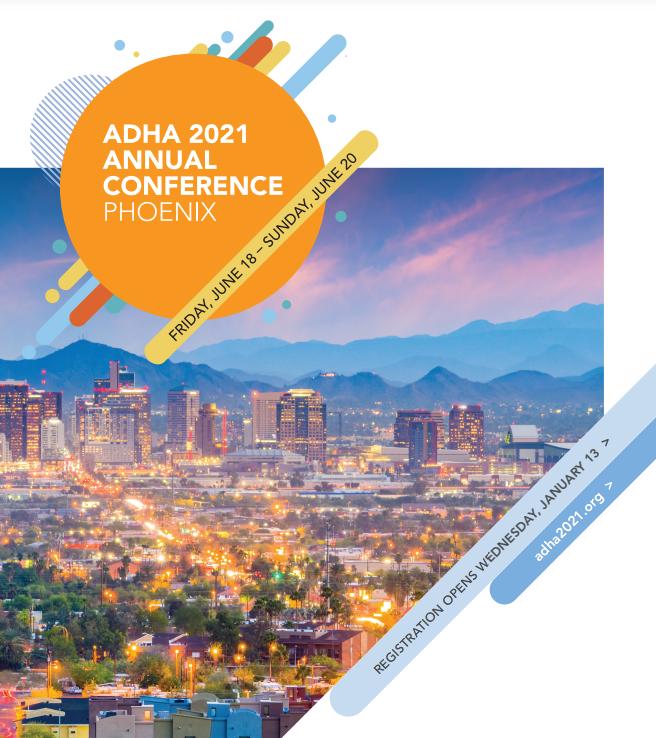 ADHA Annual Session 2021