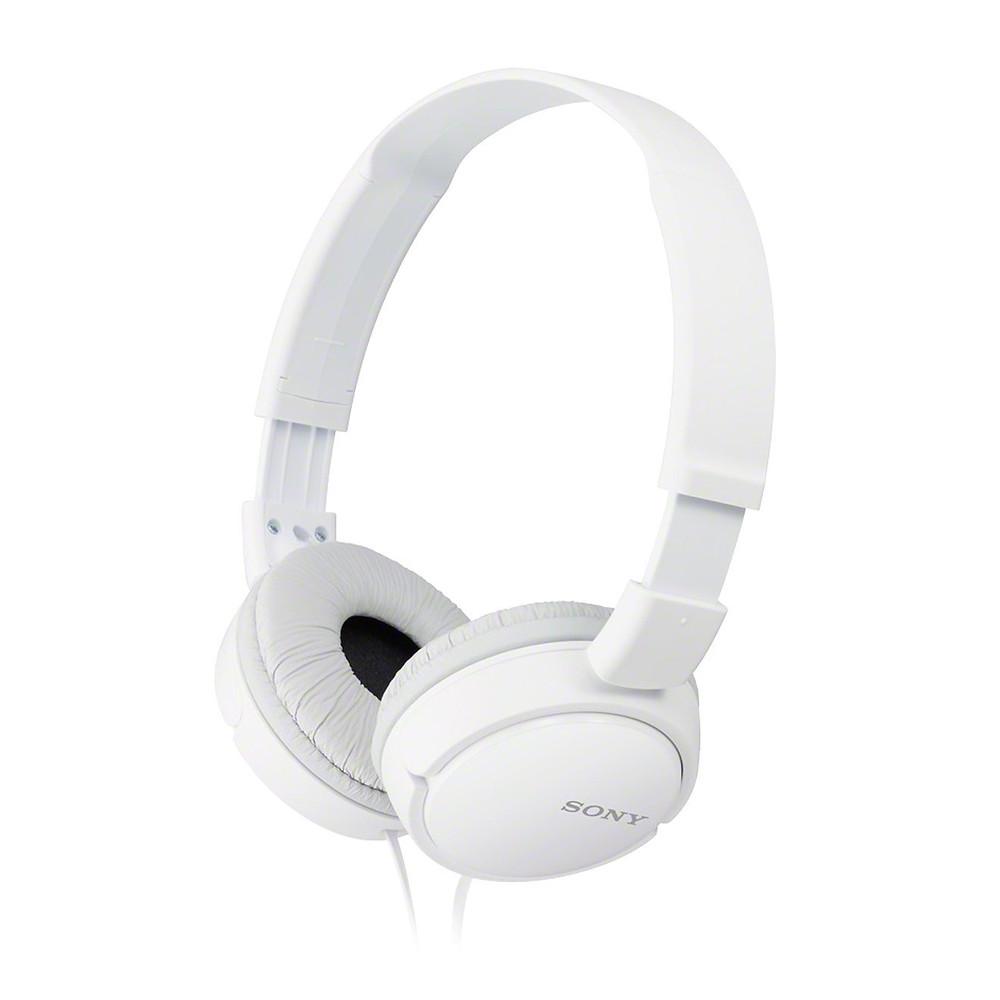 auriculares flexible blanco para niños, sony