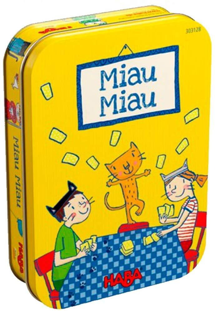 Miau Miau, Haba 303128, juego de cartas, gatos