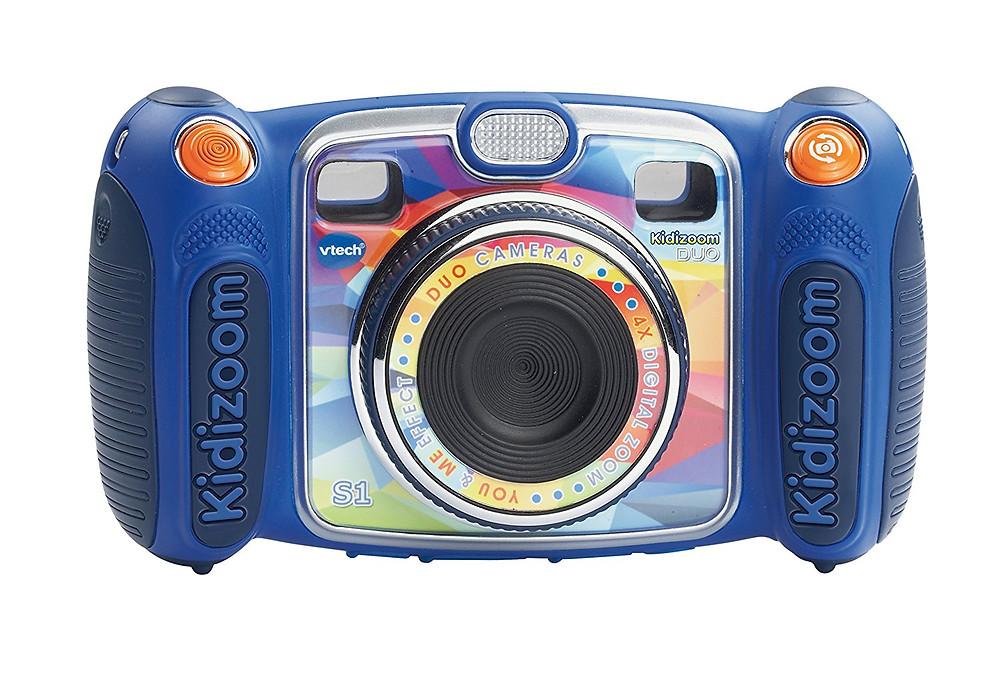 camara de fotos vtech, kidizoom, camara para niños, color azul