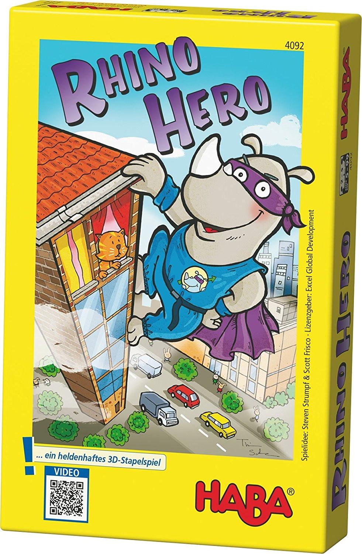 rhino hero, juegos haba, juegos de mesa