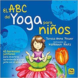 el abc del yoga para niños, libro yoga, posturas