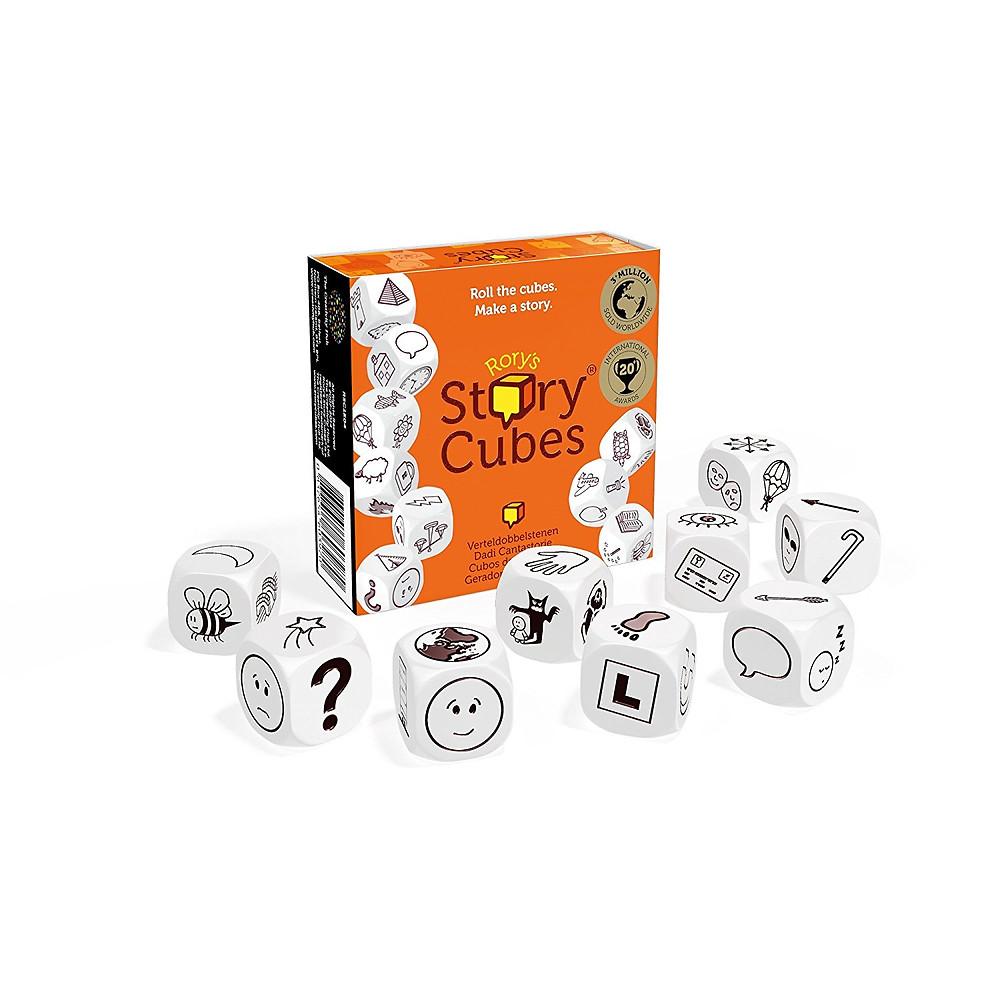 story cubes, juego de historias, cuentos, dados