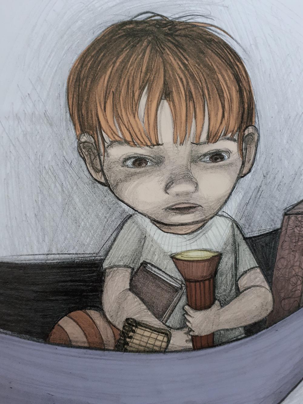 encender la noche, libro miedo oscuridad, respetuoso, libros que ayudan, terror nocturno