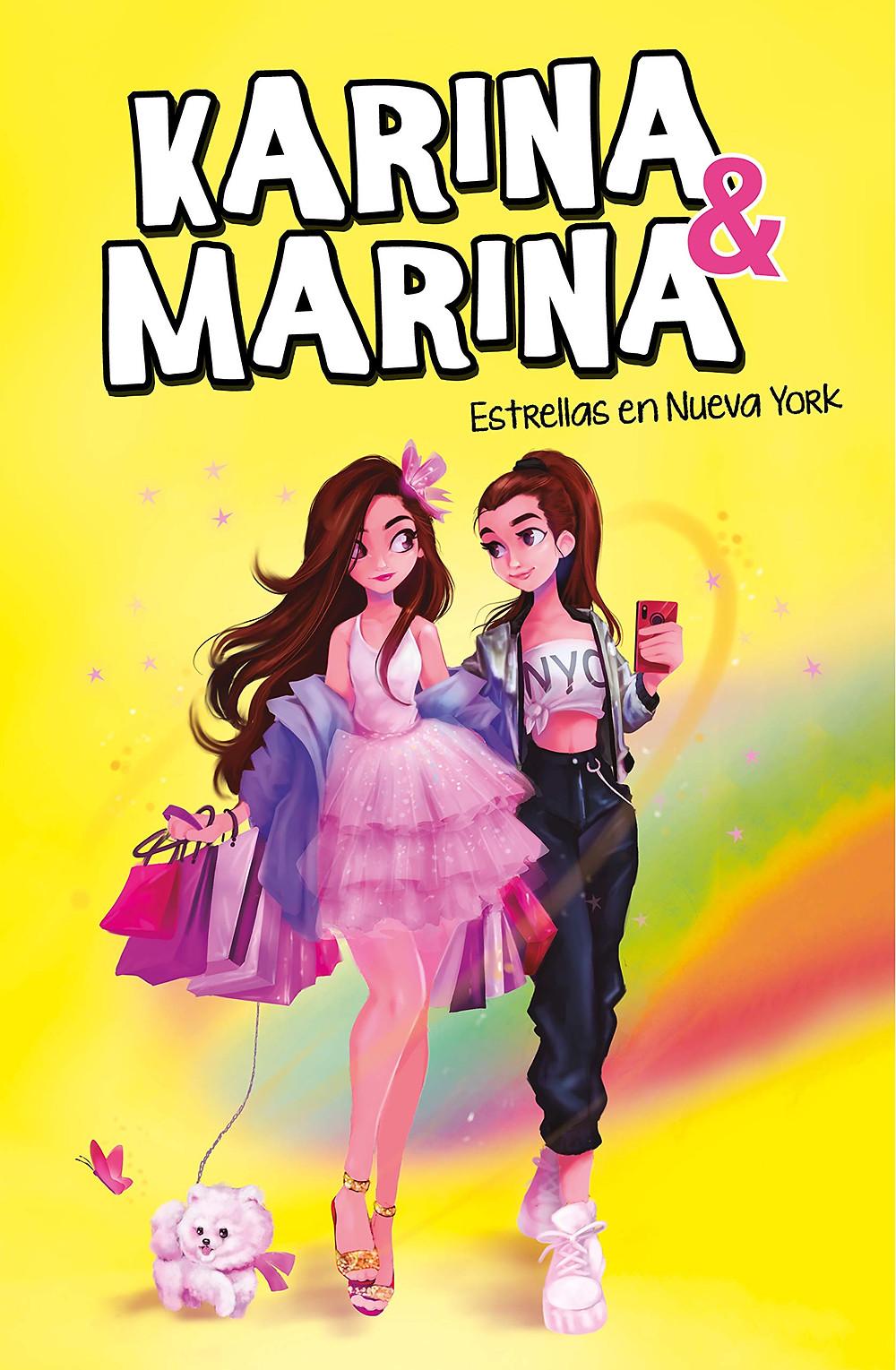 Karina y Marina, Estrellas en Nueva York