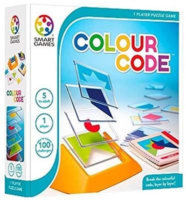 Colour Code, Smart Games, Juego logico, estrategia, visual, espacial