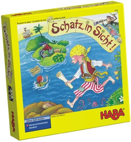 aventura pirata, HABA, juegos de mesa