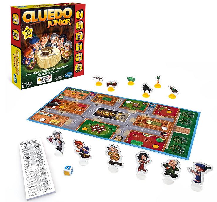 Cluedo Junior, Hasbro, Misterio, Juego de mesa