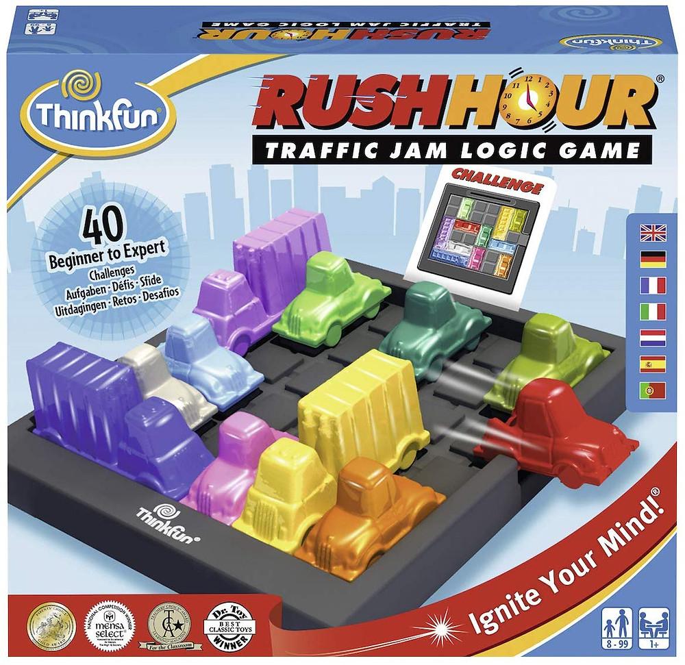 Rush Hour, juego de habilidad, razonamiento, retos