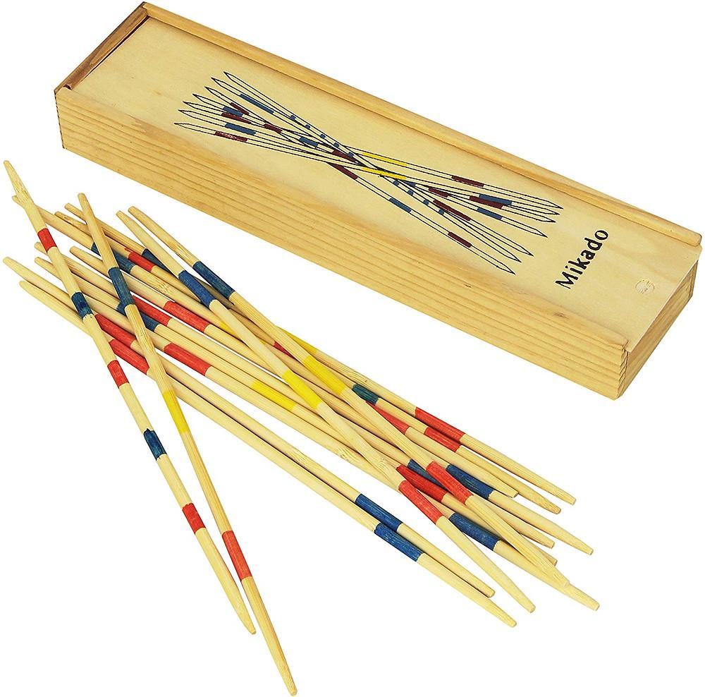 Mikado, como se juega, palillos chinos