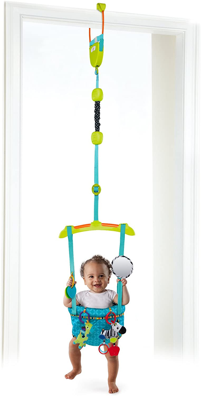 balancín, colgador, saltador puerta, juego ahorra espacio, diversión bebé