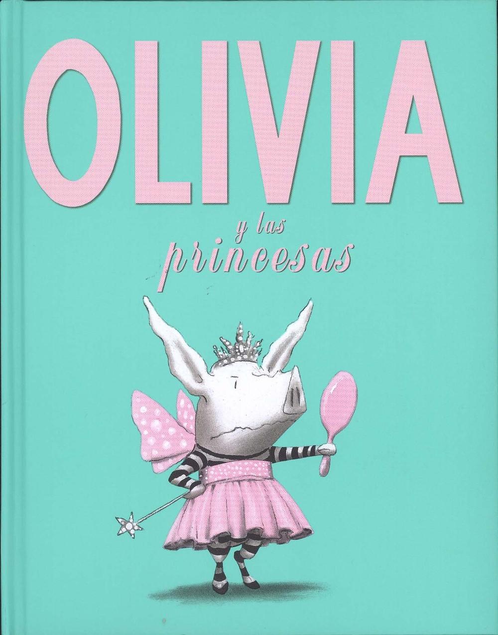 Olivia y las Princesas, LECTORUM PUBN INC, Ian Falconer
