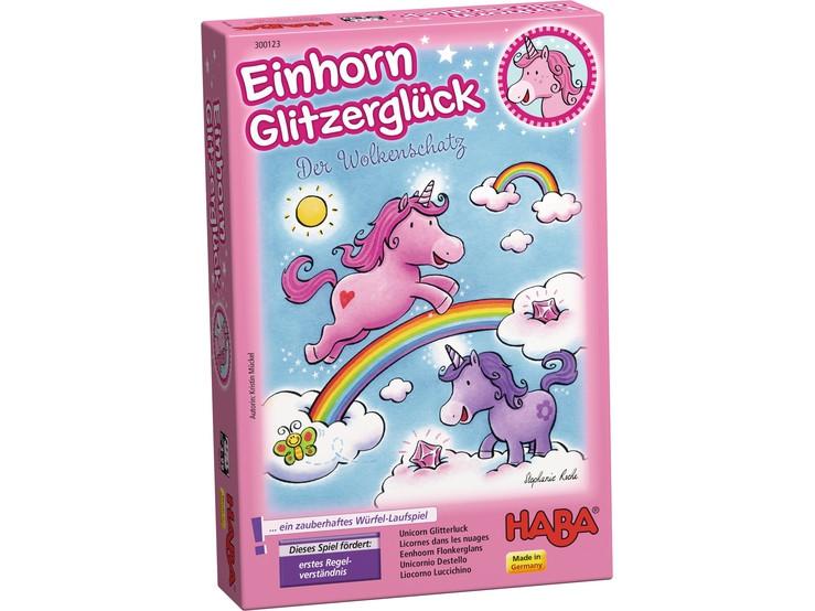 Unicornio destello, haba, juego de tablero