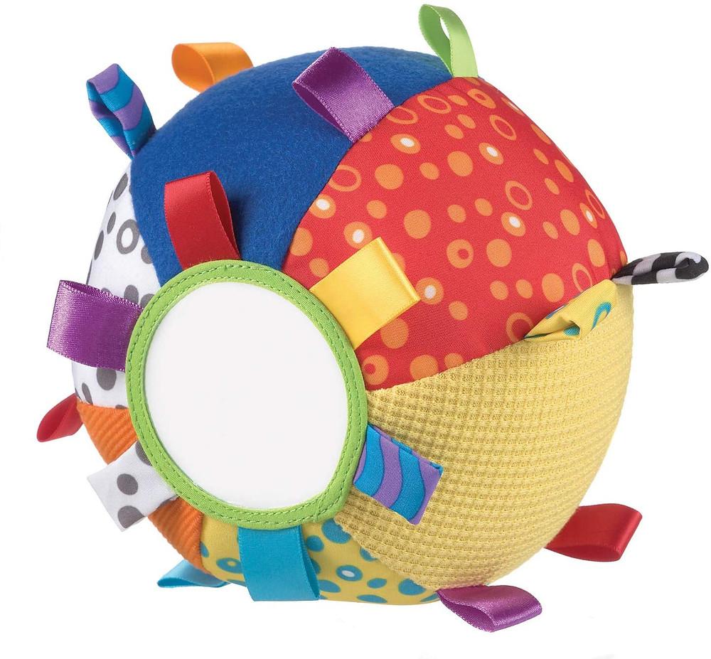 pelota multiactividad, espejo, tacto, motricidad fina y gruesa
