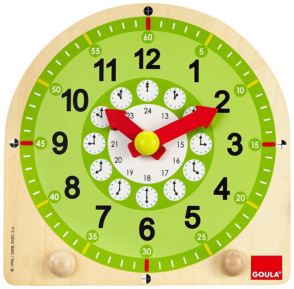 Reloj escolar Goula