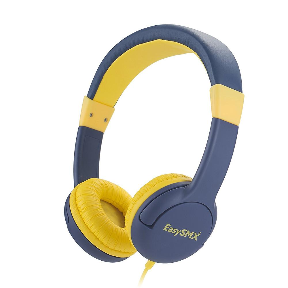 auriculares flexible azul para niños, color azul