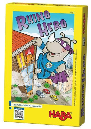 Rhino Hero, haba, juego de mesa, cartas
