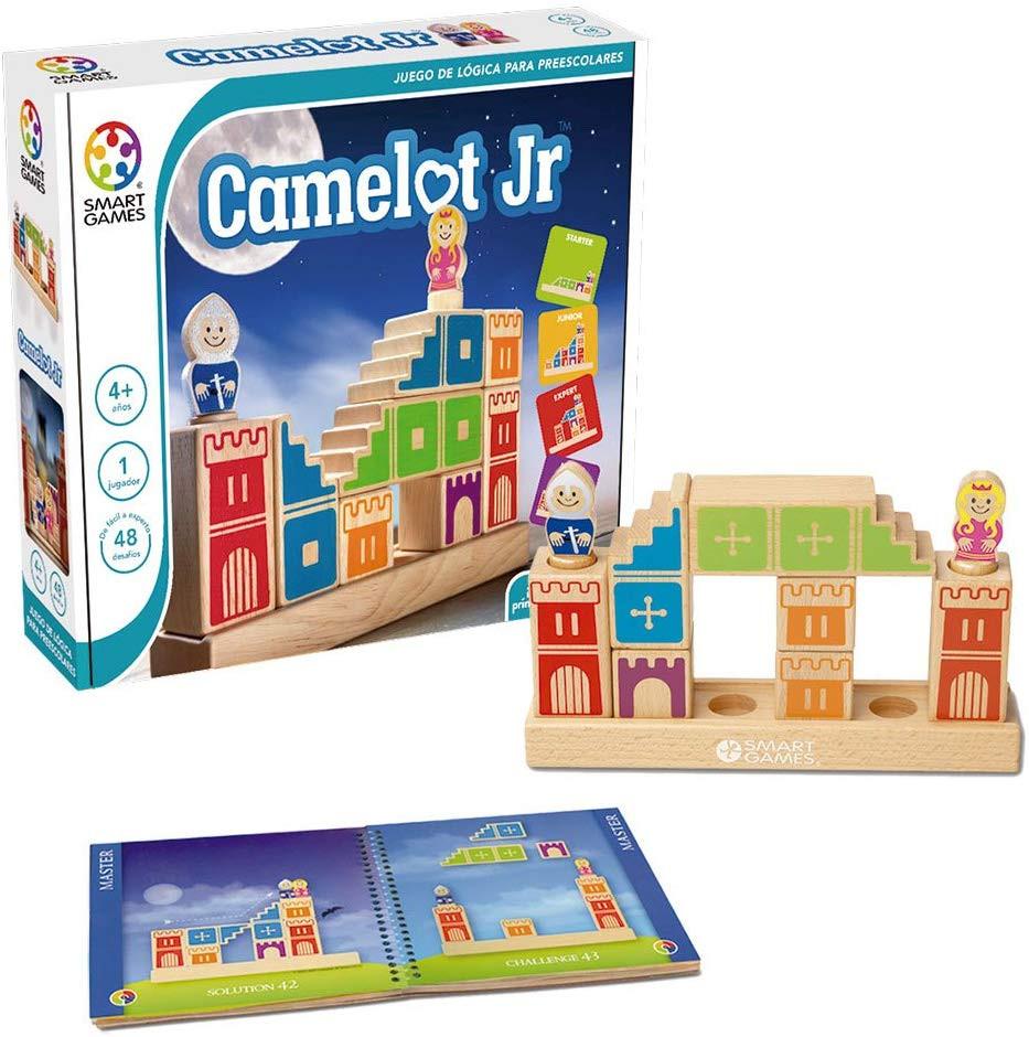 Camelot Junior, Smart Games, Juegos de habilidad, estrategia, logica