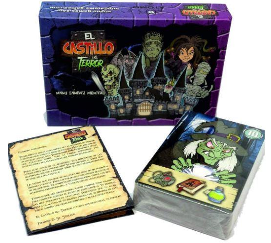 El castillo del terror, atomo games