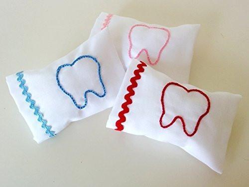 Almohada guarda dientes de leche