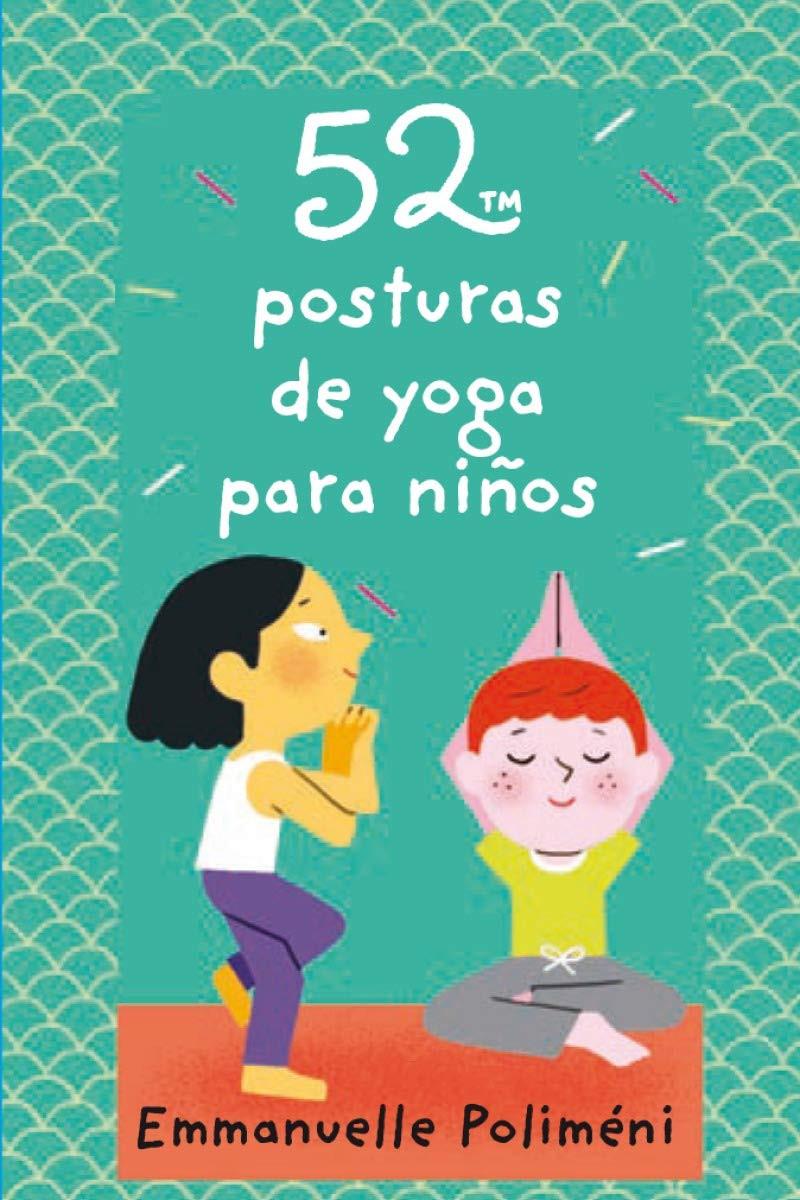 52 cartas de yoga, ejercicio en casa, niños