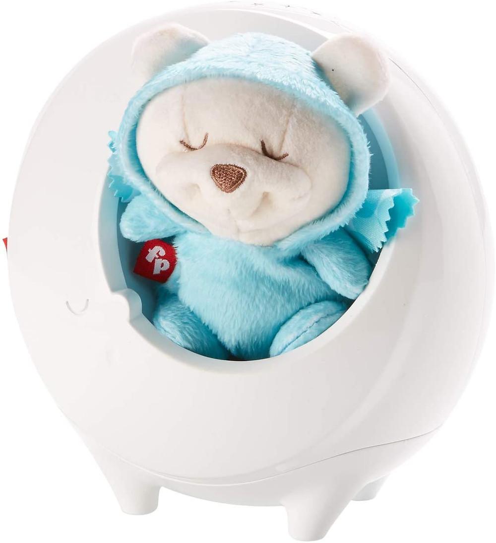 Osito dormilón, proyector con música, bebé, dormir, cuna