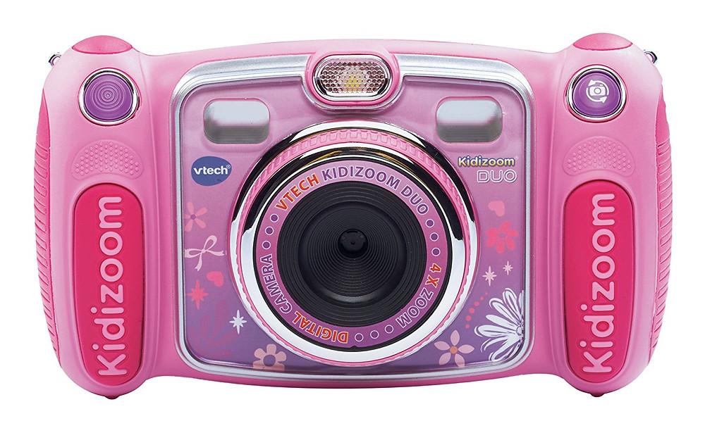 camara de fotos kidizoom, vtech, camara para niñas, collor rosa