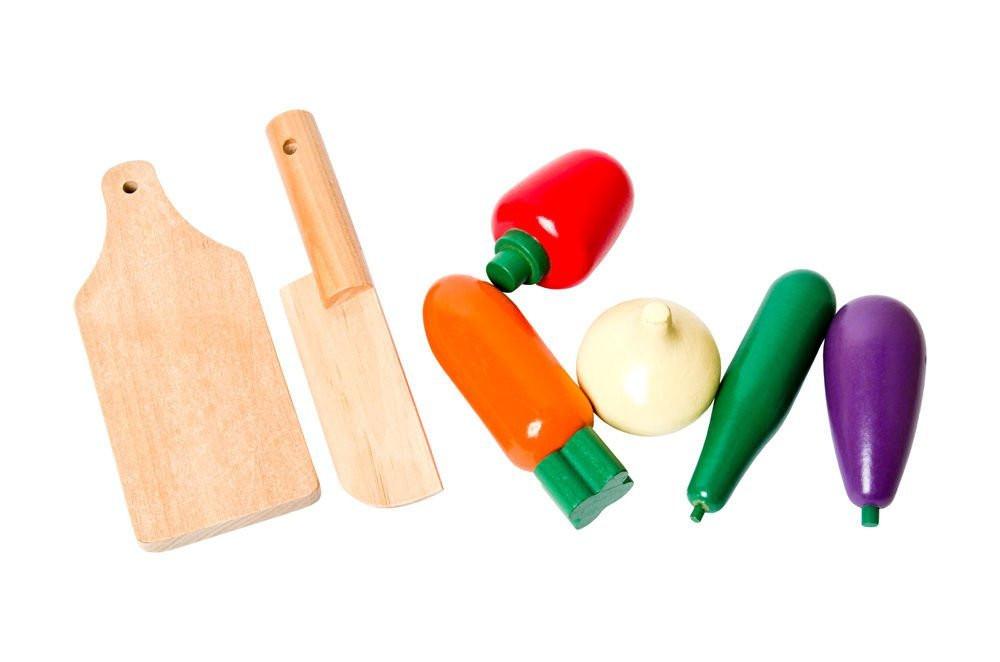 hortalizas de madera