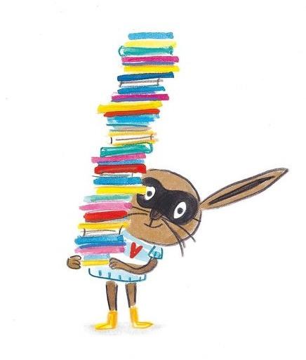 ¡Se busca! Lili la liebre, ladrona de libros