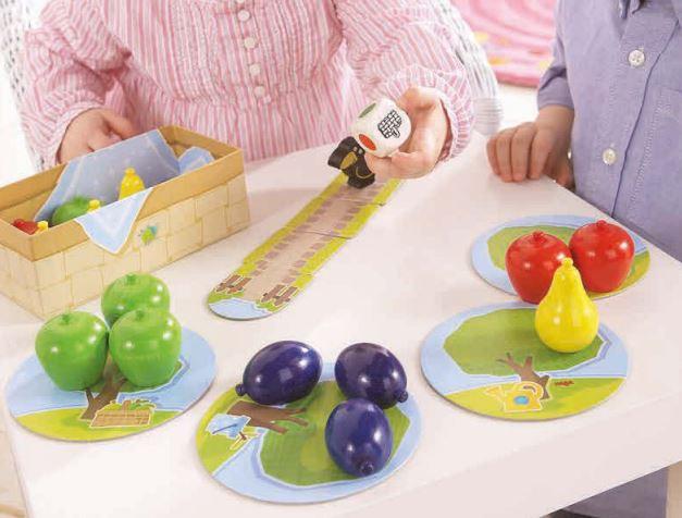mi primer frutal, juego haba, juego mesa, juego frutas