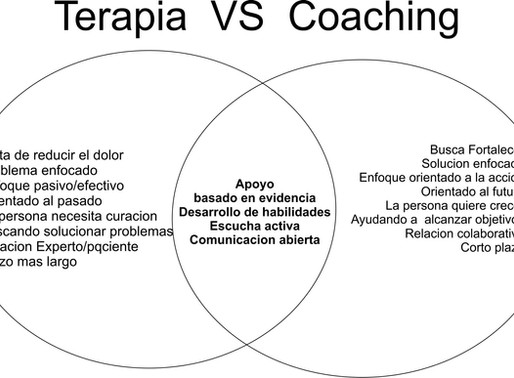 Terapia vs Coaching