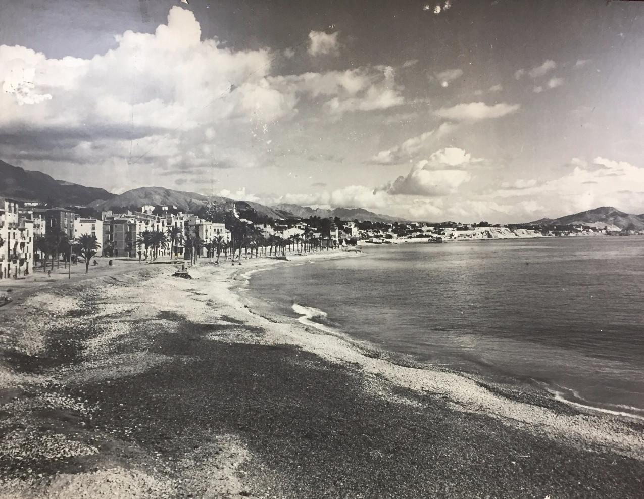 The original shingle beach