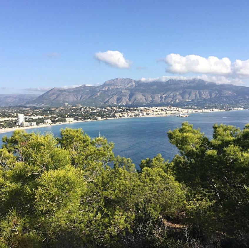 Stunning views to Altea