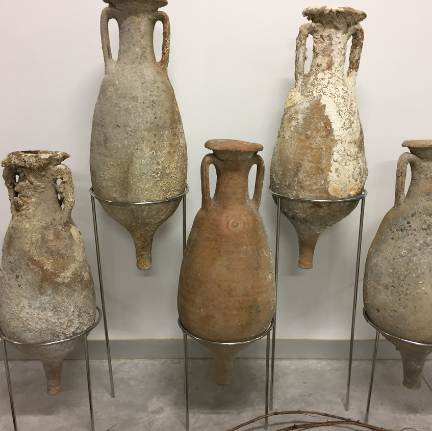 Roman amphorae from the Bou Ferrer