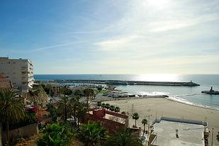 Holiday apartment Villajoyosa view from balcony terrace